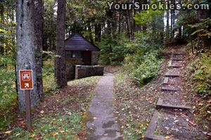 Balsam Mountain Restrooms at Picnic Area