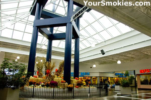 Inside the Belz Factory Outlet World Mall