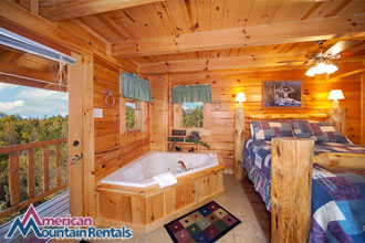 Four Bedroom Smoky Mountains Cabin Rental