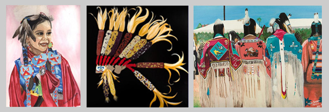 Pow Wow Outfitters is the exclusive dealer for Helen Smoker Martin Art