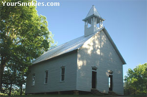 This Cades Cove Methodist Church was built in 1902.