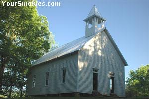 This Cades Cove Methodist Church was built in 1902.
