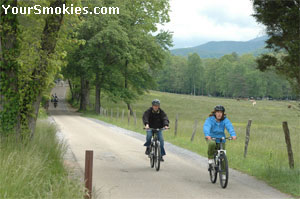 Bike riders love the Cades Cove Loop