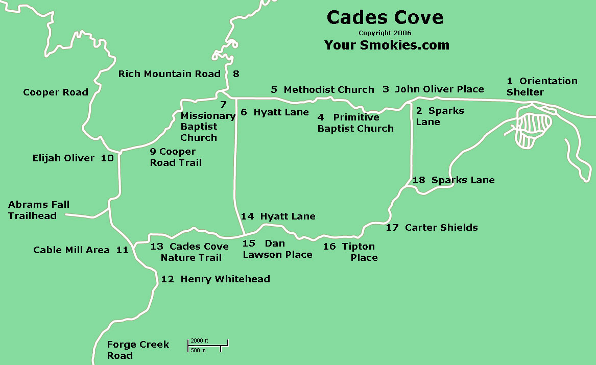 Roaring Fork Motor Nature Trail Map Impremedia Net