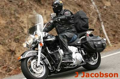 Bikers love riding the tail of the dragon in North Carolina