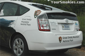Donated car with help of the Friends of the Smokies