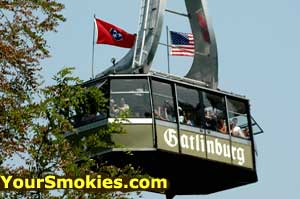 Ride the famous Tram up to Ober Gatlinburg year round.