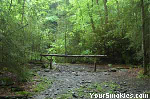 Respect the trails when going horseback riding in the Smokies.