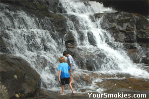 The Smoky Mountains are perfect for families.