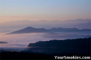 Smoky Mountains year round vacation spot