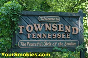 Townsend TN in the Smoky Mountains